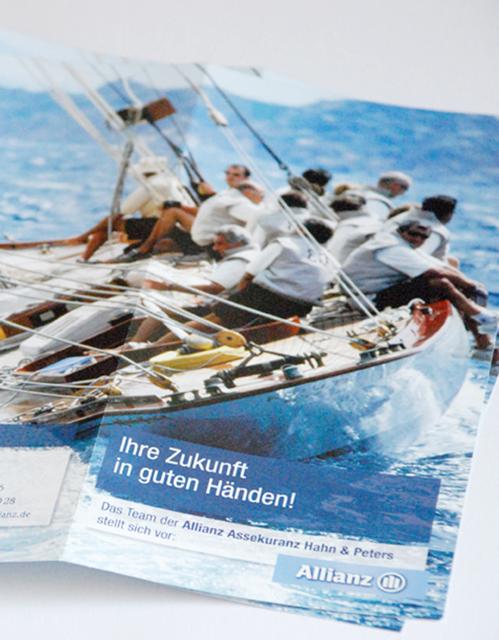 Allianz – Broschüre
